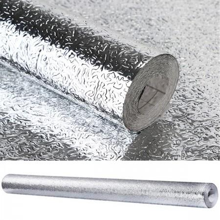 Folia aluminiowa samoprzylepna ochronna 300x61 cm