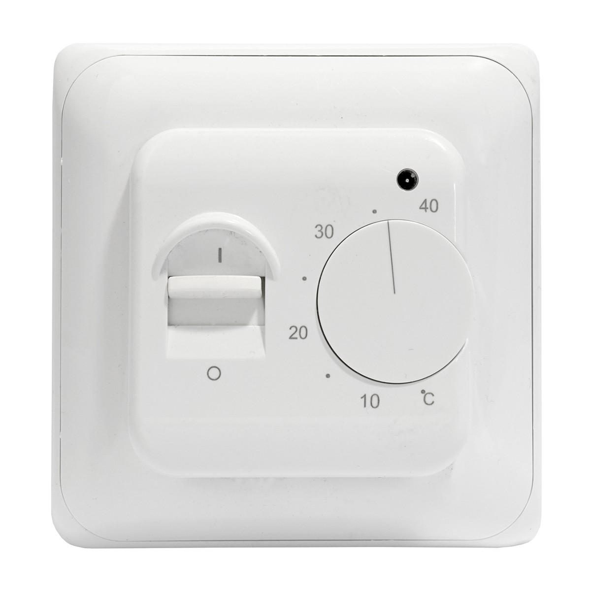 Termostat manualny do podłogówki i ogrzewania elektrycznego AC308
