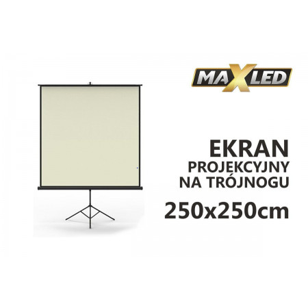 Ekran X-GRIP półautomat 250x250cm