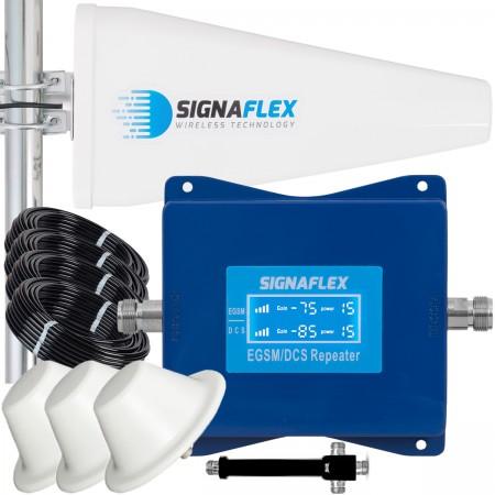 Komplet wzmacniacz EGSM/DCS LS-EGD10 Tajfun z 3x grzybek