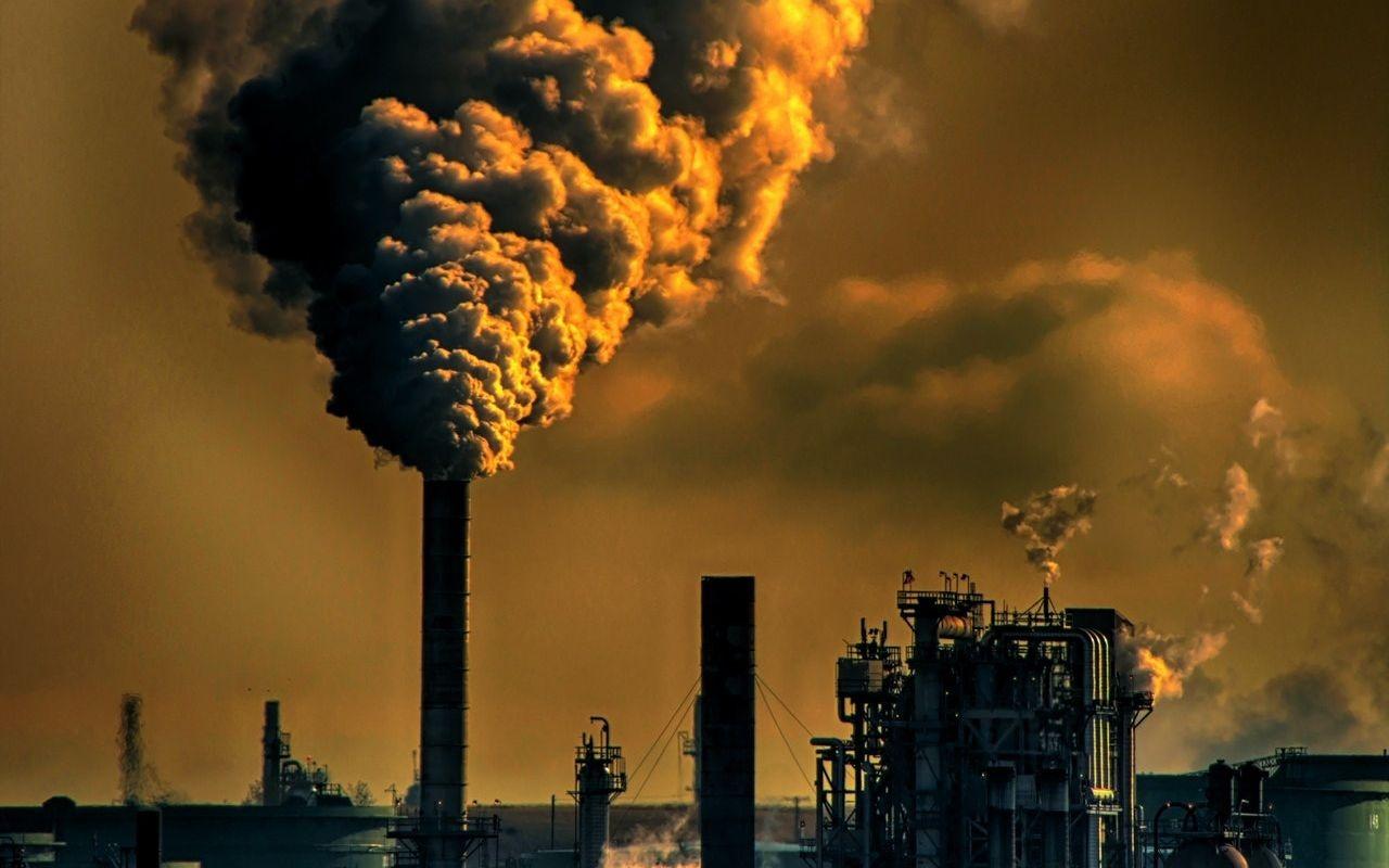 Najbardziej zanieczyszczone miasta w Polsce - miasto przemyslowe