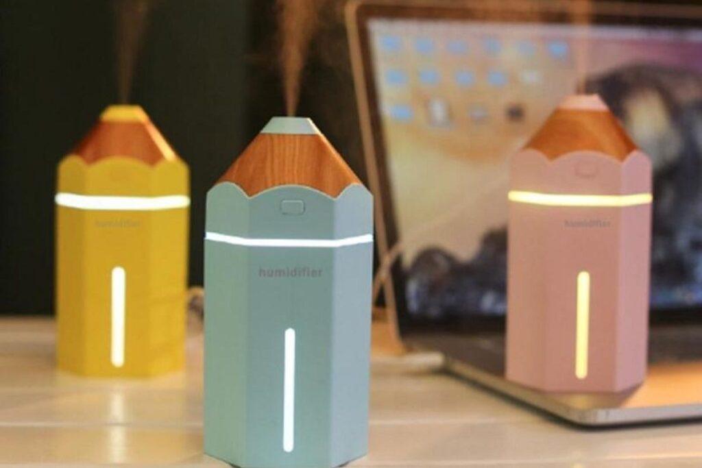 Kolorowy nawilżacz powietrza dla dziecka