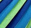 Niebiesko-zielono-granatowy
