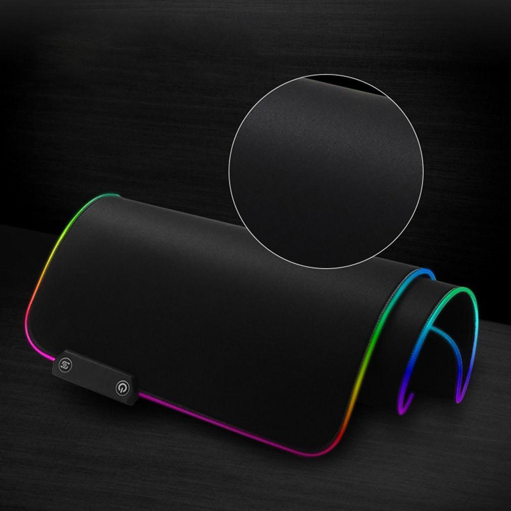 Podkładka pod mysz ze zbliżeniem na kolor podświetlenia